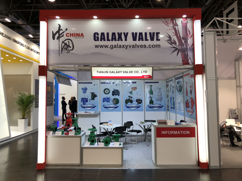 GALAXY VALVE at the VALVE WORLD EXPO 2018